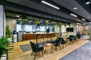 Sustainable and Flexible Elements for office design