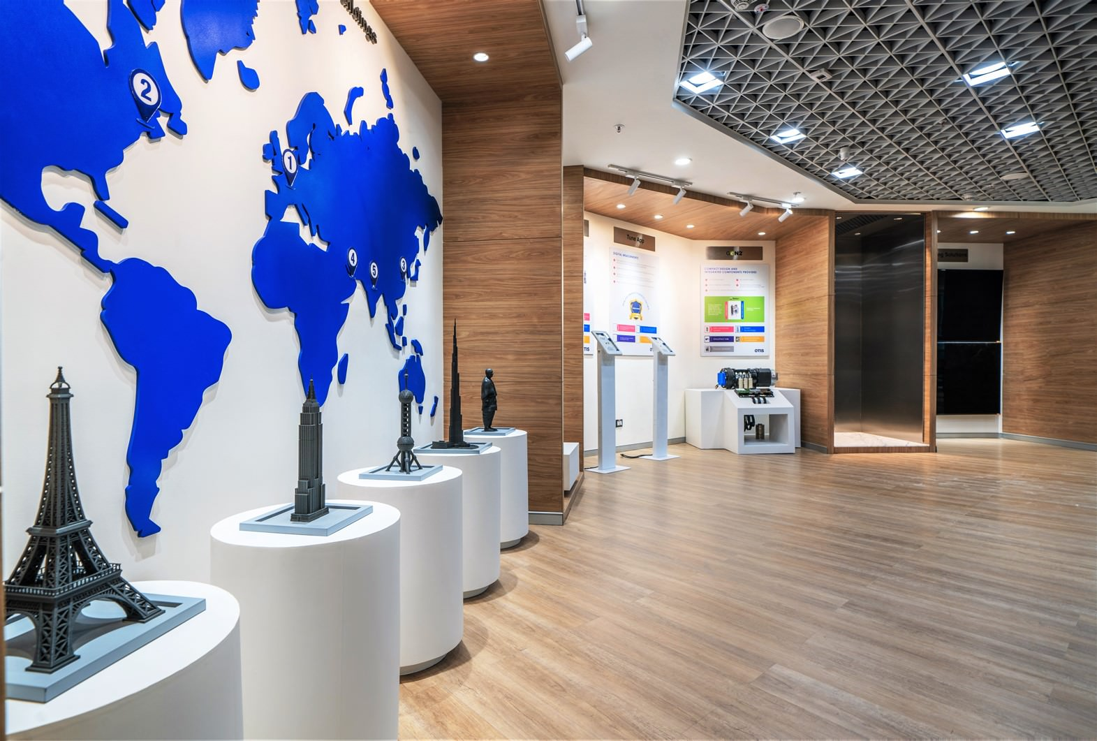 Retail design workspace